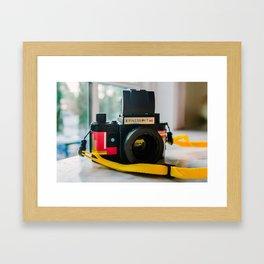 Konstruktor Toy Camera Framed Art Print