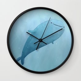 Cute Whale Shark Wall Clock