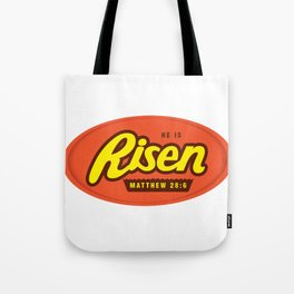He Is Risen - Matthew 28:6 Tote Bag