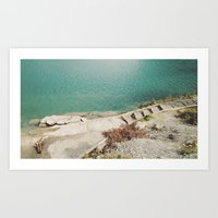 swim Art Prints featuring Swim by Tyler Forest-Hauser