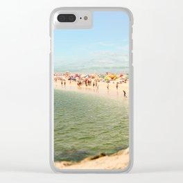 Tavira Beach Portugal Clear iPhone Case