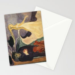Separation by Edvard Munch Stationery Cards