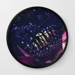 Passiflora Alata - Winged Stem Passion Flower - Ruby Star - Ouvaca Wall Clock