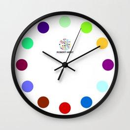 Robert Hirst Spot Clock 17 Wall Clock