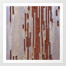 Alien Rust Art Print