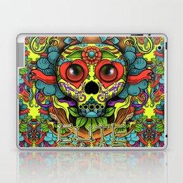 Cute Skull Dia de Los Muertos Laptop & iPad Skin
