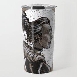 Victorian Profile_2 Travel Mug
