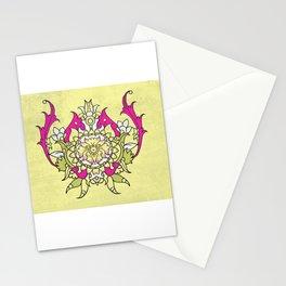 wild flower lotus Stationery Cards