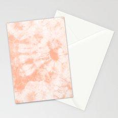 Tie Dye 3 Peach Stationery Cards