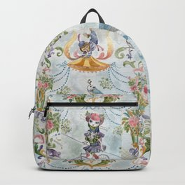 Two little circus girls Backpack
