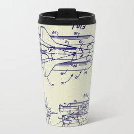 1975 NASA Space Shuttle Patent Travel Mug