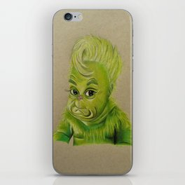 bb grinchy iPhone Skin
