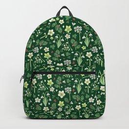 Winter Garden - dark green  Backpack