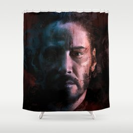 John Wick Shower Curtain