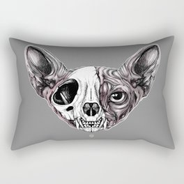 Shynx Half Skull Rectangular Pillow