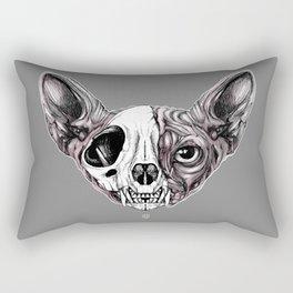 Shynx Half Skull Rectangular Pillow