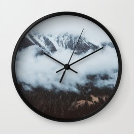 On a cloudy day - Landscape and Nature Photography Wall Clock