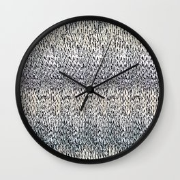 Hidden 3D Wall Clock