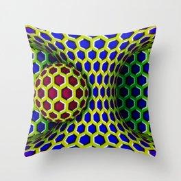 Orb Mind Tricks Throw Pillow
