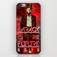 Barack To The Future iPhone & iPod Skin