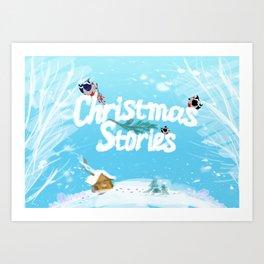 Christmas Stories Art Print
