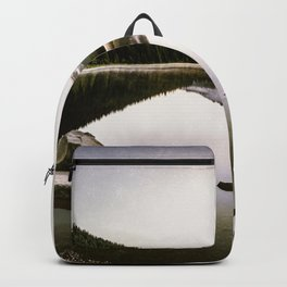 Fantastic Morning - Mount Hood Reflection Backpack