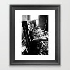 Upright Framed Art Print