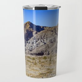 Looking Back towards Granite Mountain across the Highway in the Anza Borrego Desert State Park Travel Mug