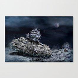 aground Canvas Print