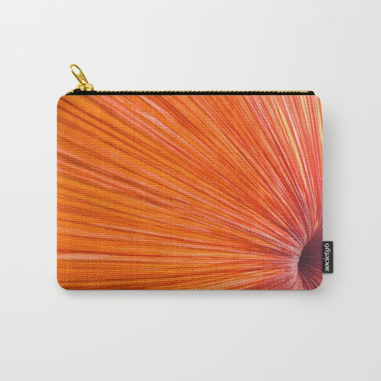 Orange and Red Carry-All Pouch