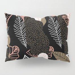 Naive Black Pillow Sham