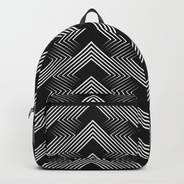 Art Deco . Mountains . Backpack