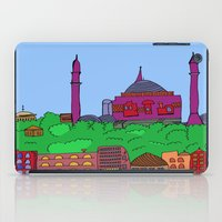 istanbul iPad Cases featuring Istanbul by andy_panda_