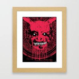 SWINE'R Framed Art Print
