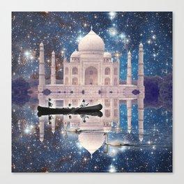 LAKE TAJ MAHAL II - STARRY SKIES Canvas Print