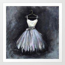 Ballerina Dress 2 - Painting Art Print