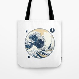 The Great Wave off Sound Tote Bag