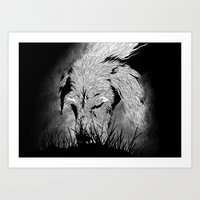 the hound Art Prints featuring Hound by hardy mayes