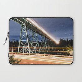 Rails in the Sky Laptop Sleeve