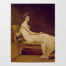 Madame Récamier Jacques Louis David Poster