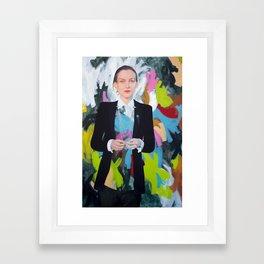 Start the Riot Framed Art Print