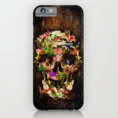 Floral Flower animal skull kingdom iPhone 6s Slim Case