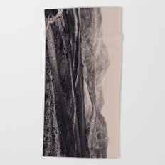 VOLCANIC ROCKS Beach Towel