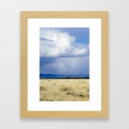 Stormy Framed Art Print