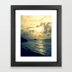 View From the Cliffs Framed Art Print