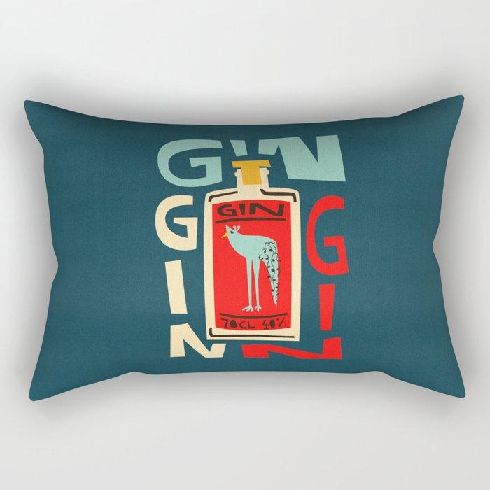 Gin Gin Gin Rectangular Pillow