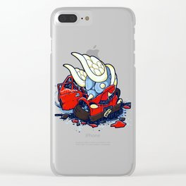 Salvage Title Clear iPhone Case