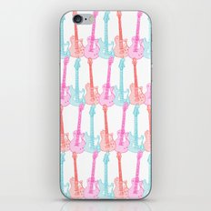Guitars and colors iPhone & iPod Skin