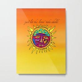Sublime Sun Metal Print
