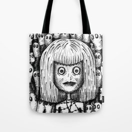 """sorry, it's not our fault"" by Anxiety and Gretel Tote Bag"